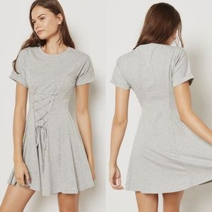 Topshop Corset Flippy Tunic Dress